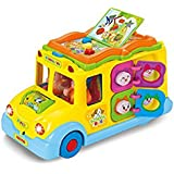 Generic School Bus Toy with Different Lighting System For Kids Multi Color