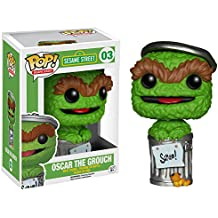 Sesame Street Oscar The Grouch Mini Figurine Funko Pop Vinyl 10cm