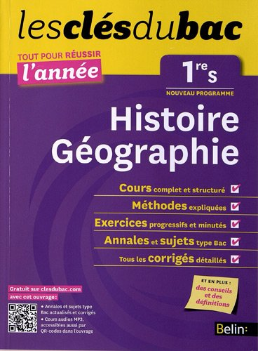 Cls Du Bac - Histoire Gographie 1re S - Russir L'anne