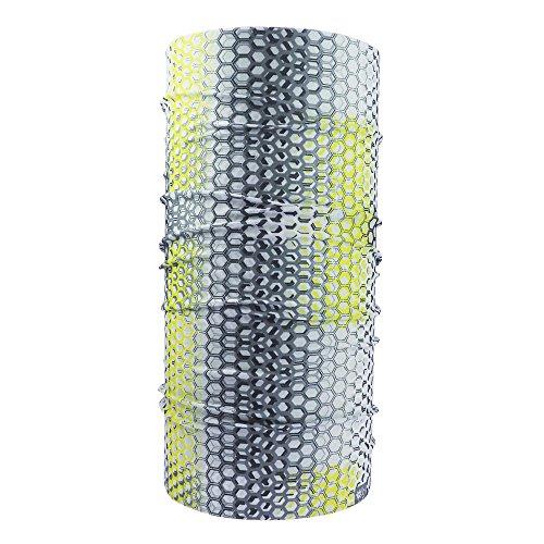 ebos, fascia multifunzione di alta qualità (sciarpa, bandana, foulard, scaldacollo, ecc.), per motocicletta, snowboard, moda, ecc. , Dynamic III
