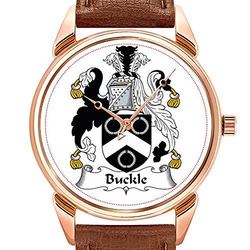 Herrenuhren Mode Quarzuhr Business wasserdicht leuchtende Uhr Herren braun Leder Uhr Bucking Bronco Watch - Bronco Leder