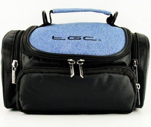 neuf-tgc-delave-blue-denim-et-noir-deluxe-sacoche-housse-de-transport-avec-bandouliere-pour-le-fujif