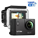 VTIN Action Kamera WiFi 2,0 Zoll, VTIN Full HD 1080P Sport Action Camera Cam Wasserdicht 170 °...