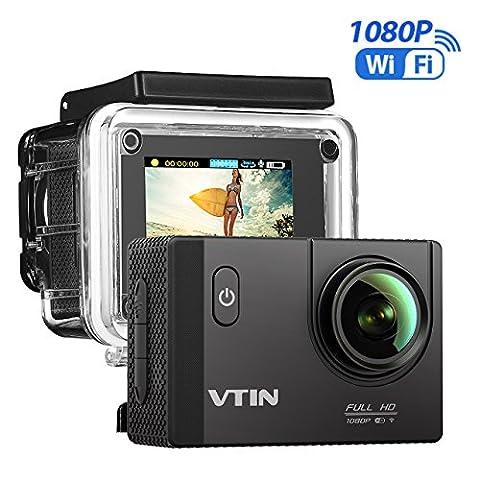 VTIN Action Kamera WIFI 2,0 Zoll, VTIN Full HD 1080P