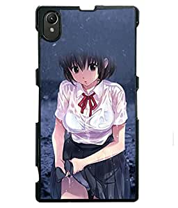 Printvisa 2D Printed Girly Designer back case cover for Sony Xperia Z1 - D4603