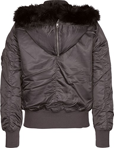 lena LW Hooded Bomber W Winterjacke rabbit ()