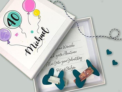 Geldgeschenk Geld Verpackung Personalisiertes Geschenk Zum