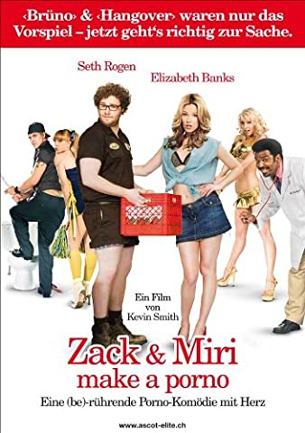Zack and Miri Make A Porno Affiche du film Poster Movie Zack et Miri font un Porno (11 x 17 In - 28cm x 44cm) Swiss Style B