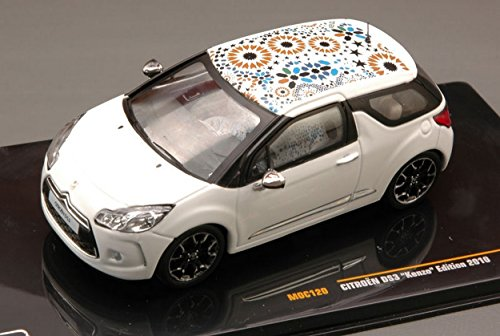 ixo-moc120-citroen-ds3-kenzo-edition-2010-white-143-modellino-die-cast-model
