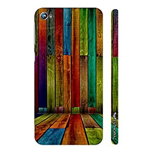 Micromax Canvas Fire 4 A107 STRIPER WALL designer mobile hard shell case by Enthopia