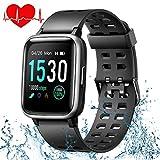 ONSON Fitness Armband Wasserdicht IP68 Fitness Tracker Fitness Uhr für Damen Herren Kinder, Sportuhr mit Schrittzähler,Pulsuhr,1.3-Zoll Smart Watch Sportuhren für iOS Android Handy