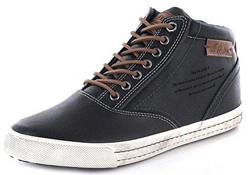 s.Oliver Herrenschuhe 5-5-15240-27 Herren Sneaker, Schnürboots, Boots, Stiefel Black Antic