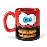 """Big Mouth Toys BMMU-CM - Taza de plástico con texto""""Crazy for Cookies"""""""