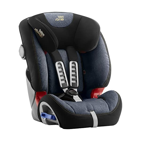 Britax Römer MULTI-TECH III Car Seat (9 Months-6 Years | 9-25 kg), Blue Marble Britax Römer This MULTI TECH III will come in a Blue Marble design cover which is made from a more premium fabric with extra detailing Enhanced side impact protection - the SICT feature offers High quality protection to your child in the event of a side collision Extended rearward facing - rearward facing car seats offer the best protection in the event of a frontal collision - the most frequent type of accident on the roads 3