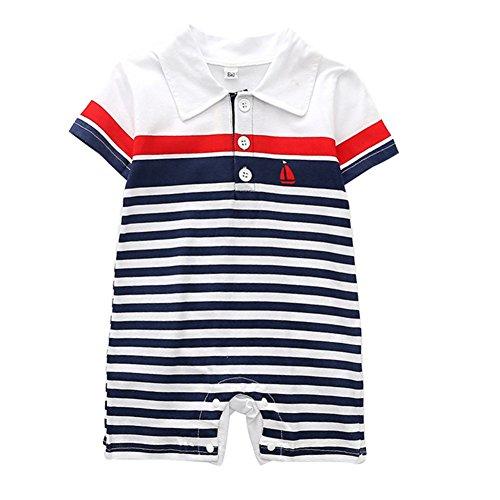 Blaward bambino pagliaccetto in cotone/manica corta body per ragazze ragazzi/pigiama neonato tutina fumetto outfits/bodysuit body per bimbi