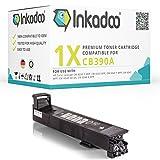 Inkadoo Toner passend für HP Color LaserJet CM 6040 Series kompatibel zu HP 825A , 825ABK , 825ABLACK , NO825A , NO825ABK , NO825ABLACK CB390A - Premium Drucker-Kartusche Alternativ - Schwarz - 19.500 Seiten