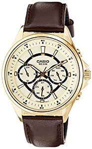 Casio Enticer  Analog  Multi-Color Dial Men's Watch - MTP-E303GL-9AVDF( A964)