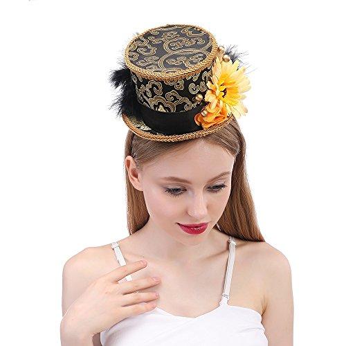 DIMDIM mychome Tea Party Mini Hat, Micro Mini -