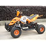 Mini ATV Easy Pullstart Quad Pocketquad Kinderquad Kinderfahrzeug Repti (Orange)
