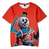 Camiseta Impresión 3D Juego Patrón de impresión Niño niña Sudadera Manga Corta