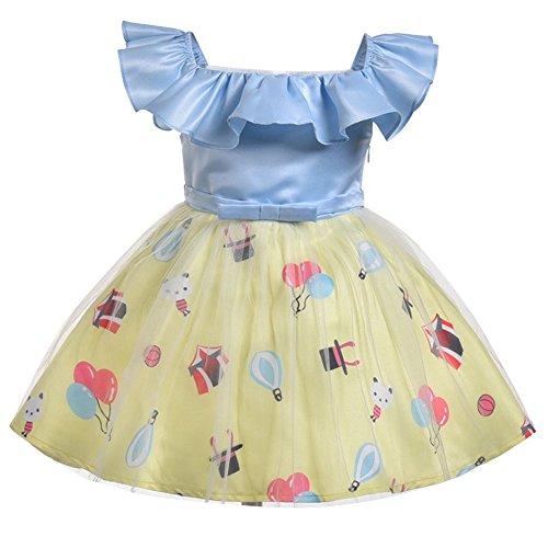 -Prinzessin Dress Cosplay Kostüme Pancy Outfit für 1-6 Jahre alt (Tanz Königin Kind Kostüme)