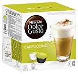 Nescafé Dolce Gusto Cappuccino, Pack of 3 (Total 48 Capsules, 24 Servings) Bild