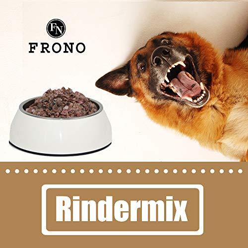 Frostfutter Nordloh 20 kg Rindermix, Barf für Hunde, Katzen, Frettchen oder Greifvogel -