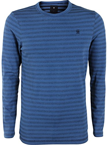 G-Star Herren Langarm-Shirt Bonded Light Aged (424)