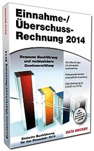 Einnahme-/Überschussrechnung 2014