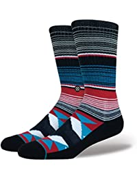 Stance Calcetines Khan Classic Medium Cushion Poly Blend negro/multi/blanco Vy6JqDZv
