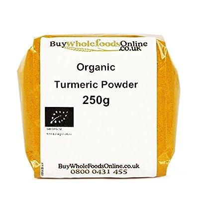 Organic Turmeric Powder 250g from Buy Whole Foods Online Ltd.
