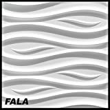 1 Platte 3D Polystyrol Wand Decke Paneele Dekoration Wandplatte 60x60cm, FALA