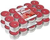 Le Chat 1190091 Lot de 2 packs de 30 bougies Chauffe-plats colorées et parfumées  GRENADINES - rouge grenadine / parfum exotic grenadine
