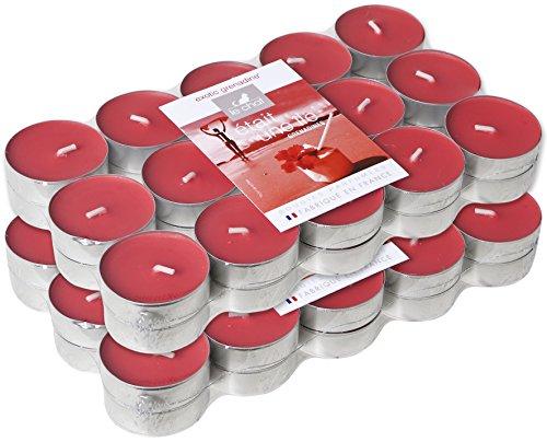 le-chat-1190091-lot-de-2-packs-de-30-bougies-chauffe-plats-colorees-et-parfumees-grenadines-rouge-gr