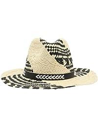 EOZY Chapeau Panamas Paille Unisexe Homme Chapeau De Soleil Bob Femme Plage