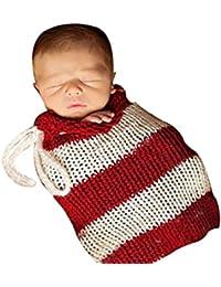 SaiDeng Recién Nacido Infantil Hecha A Mano Del Knitting Sacos De Dormir Accesorios De Fotografía Style 3