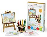 #5: Funvention Little Art Gallery - Express Your Imagination - Puzzle & Coloring Art Kit - Art & Craft Toy