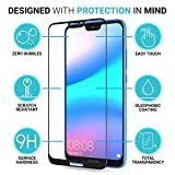 #8: Huawei P20 LITE\LOFAD CASE Tempered Glass for Huawei P20 LITE\Screen Guard PROTECTER