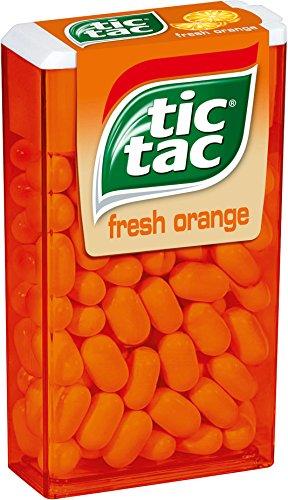 Tic Tac orange Großpackung, 6er Pack (6 x 49 g Packung)