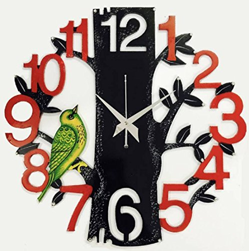 Dinine Craft Wooden Wall Clock for home Latest Design for Living Room...