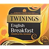 Twining English Breakfast 100 Tea Bags (Pack of 4, total 400 Tea Bags)