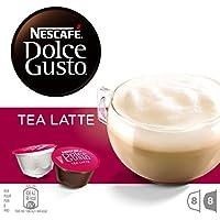 Nescafé Dolce Gusto - Tea Latte - 3 Paquetes de 16 Cápsulas - Total: 48 Cápsulas