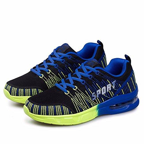 Uomo Sneakers Green Di Fluorescent Battenti Sneakers Blue Marea Linea fqBxUv