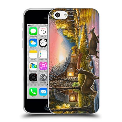 Ufficiale Chuck Black Bentornato a casa Cabina Cover Morbida In Gel Per Apple iPhone X Attraversamento del fiume