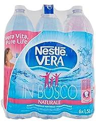 Nestlé Vera Acqua Minerale Naturale Oligominerale - Pacco da 6 x 1.5 Litri - Totale: 9 Litri