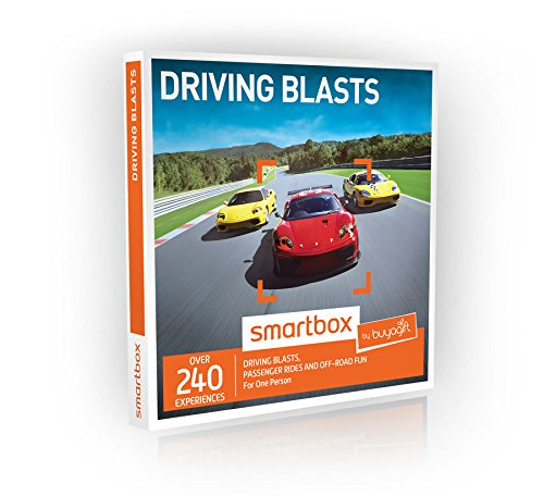 Price comparison product image Buyagift Driving Blasts Gift Experiences Box - 240 driving days from off road thrills to exhilarating passenger rides