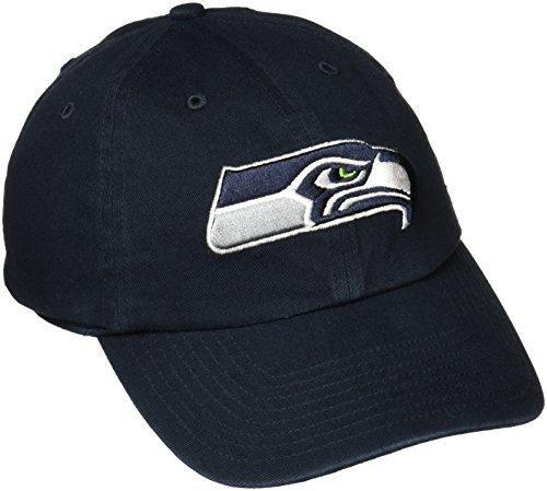 NFL '47reinigen bis Verstellbarer Hat, eine Größe passend für alle Einheitsgröße Navy (Seahawks Hut Womans)