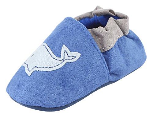 Y-BOA Chaussons Chaussures Baptême Premiers Pas Marche Semelle Souple Fille Garçon Bébé Motif Animaux Mignon