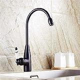 Eeayyygch Küchenarmaturen Schwarz Bad Wasserhahn für Becken Einhand Einhebelmischer für Waschbecken Günstige Mixer (Farbe : -, Größe : -)