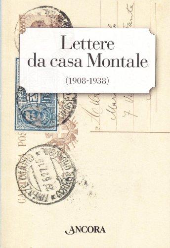Lettere da casa Montale (1908-1938) (Incursioni) por Zaira Zuffetti